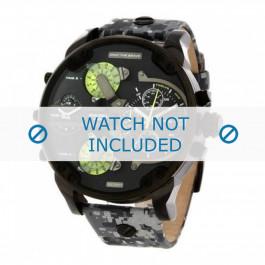 Correa de reloj Diesel DZ7311 Cuero Gris 28mm