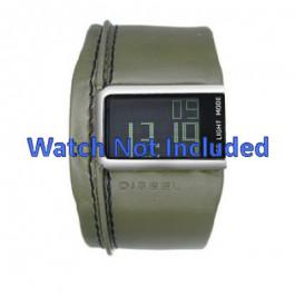 Correa de reloj Diesel DZ7053 Cuero Verde 28mm