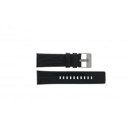 Correa de reloj Diesel DZ4372 Cuero Negro 24mm