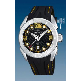 Correa de reloj Festina F16505/5 Caucho Negro 26mm