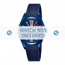 Festina correa de reloj F16963-1 Metal Azul  16mm
