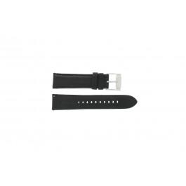 Correa de reloj Fossil FS4745 Cuero Negro 22mm