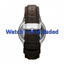 Correa de reloj Fossil FS4737 Cuero Marrón 22mm