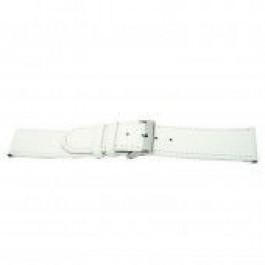 Correa de reloj Universal I505 Cuero Blanco 24mm