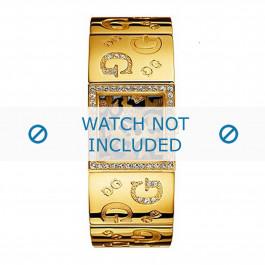 Correa de reloj Guess I80340L1 / I90222L1 Acero Chapado en oro 16mm