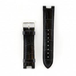 Correa de reloj Guess W11008L2 Cuero Negro 21mm