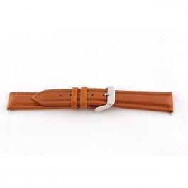Correa de reloj Universal H385 Cuero Cognac 22mm