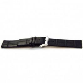 Correa de reloj Universal G145 Cuero Negro 20mm