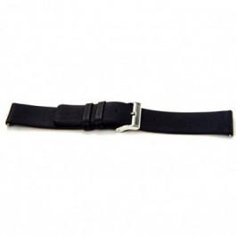 Correa de reloj Universal I105 Cuero Negro 24mm