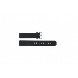 Correa de reloj Jacob Jensen 600 / 800 / 890 Cuero Negro 17mm