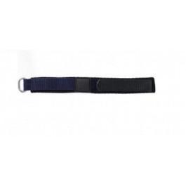 Correa de reloj Universal KLITTENBAND 412 14mm Velcro Azul 14mm