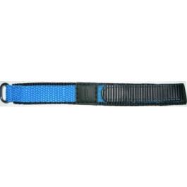 Correa de reloj Condor KLITTENBAND 412R Velcro Azul claro 14mm