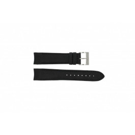 Correa de reloj Nautica A15102G / NAPSDG003 Silicona Negro 22mm