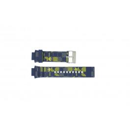 Correa de reloj Adidas ADH6106 Caucho Azul 16mm