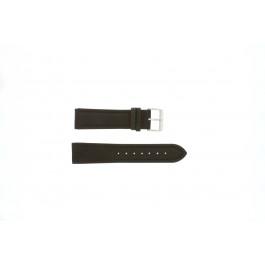 Correa de reloj Universal H372 Cuero Marrón 22mm