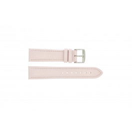 Correa de reloj Universal 283.14 Cuero Rosa 24mm