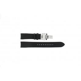 Correa de reloj Seiko 7D46-0AB0 / SNP015P1 / 4LA8JB Cuero Negro 20mm