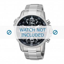 Correa de reloj Seiko V172-0AG0 / SSC075P1 / M0E6314J0 Acero 21mm