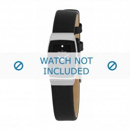 Skagen correa de reloj 271SSLB Piel Negro 12mm
