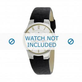 Correa de reloj Skagen 433SSGL1 Cuero Marrón oscuro 16mm