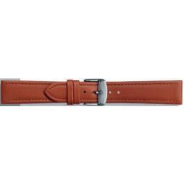 Correa de reloj Universal 283.08 Cuero Cognac 24mm