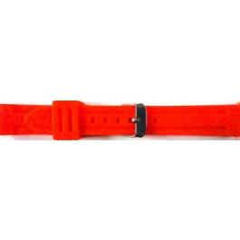 Correa de reloj Universal 253 Silicona Rojo 24mm