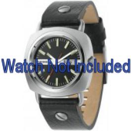 Correa de reloj Diesel DZ2129 Cuero Negro 22mm