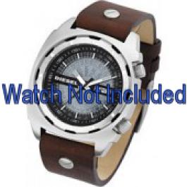 Correa de reloj Diesel DZ1197 Cuero Marrón 26mm