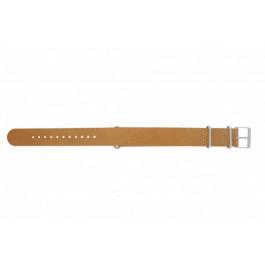 Correa de reloj Timex T2P492 / P2P492 / PW2P62300 Cuero Marrón 20mm