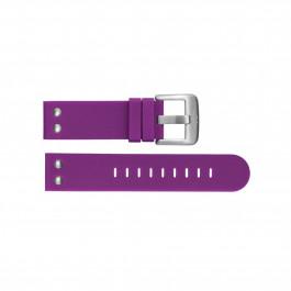 TW Steel correa de reloj TWB515 Silicona Púrpura 22mm