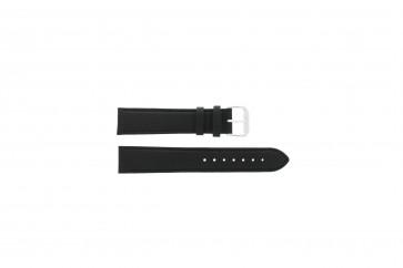 Correa de reloj Condor 054.01L XL Cuero Negro 22mm