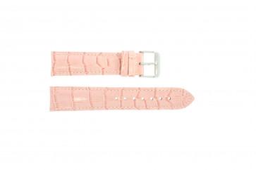 Cuero genuino croc rosa 22mm PVK-285