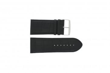 Correa de reloj Universal 305R.01 Cuero Negro 34mm