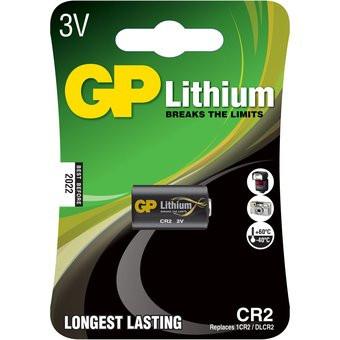 Pila alcalina marca GP CR2