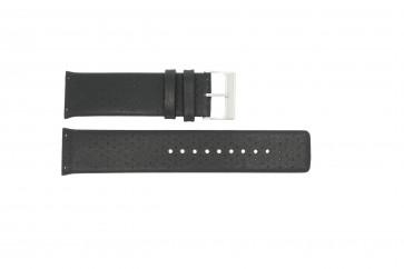 Correa de reloj Skagen 806XLTLM / 806XLTBLB Cuero Negro 24mm