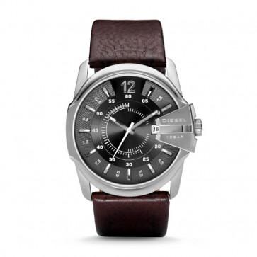 Diesel correa de reloj DZ-1206 / DZ-1234 / DZ-1259 / DZ-1399 Piel Marrón 27mm