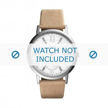 Correa de reloj Fossil ES4162 Cuero Marrón 18mm