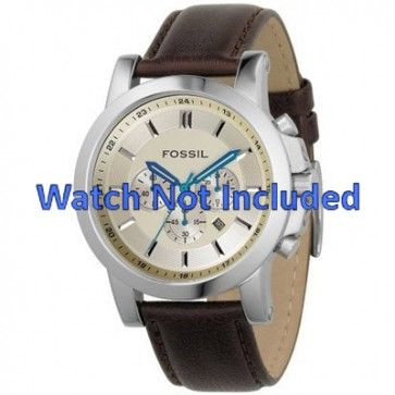 Correa de reloj Fossil FS4248 Cuero Marrón 22mm