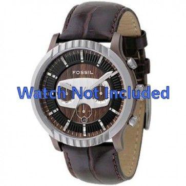 Correa de reloj Fossil FS4441 Cuero Marrón 27mm