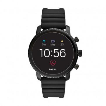 Fossil FTW4018 Q Explorist HR GEN 4 Digital Smartwatch Hombres Negro