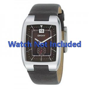 Correa de reloj DKNY NY1319 Cuero Marrón 20mm
