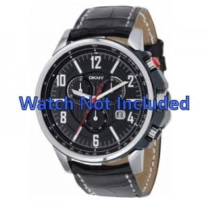 Correa de reloj DKNY NY1325 Cuero Negro 22mm
