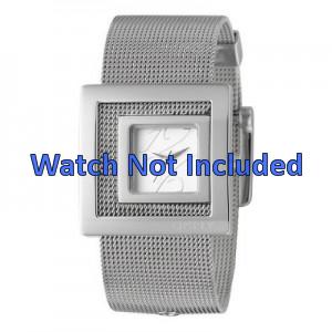 DKNY correa de reloj NY4302 Acero Palteado 24mm