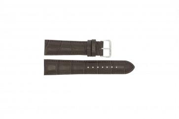 Correa de reloj Universal 805R.02.18 Cuero Marrón 18mm