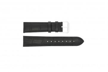 Correa de reloj Universal 305R.01 / 805R.01 Cuero Negro 18mm