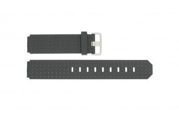 Correa de reloj Jacob Jensen 400 / 410 / 411 / 412 Caucho Negro 17mm