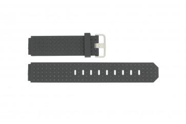 Correa de reloj Jacob Jensen 400 / 420 Caucho Negro 12mm