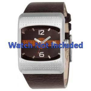 Correa de reloj Fossil JR9389 Cuero Marrón 16mm