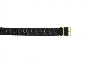 Correa de reloj Universal P20Z Nylon/perlón Negro 20mm