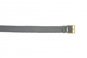 Correa de perlón 20mm gris
